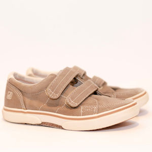 Sperry Top Sider Kids Halyard H&L Tan  11M